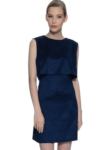 Fashion Elbise Lacivert